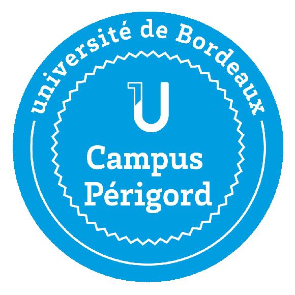 Logo du campus Périgord à Périgueux, détachement Université de Bordeaux