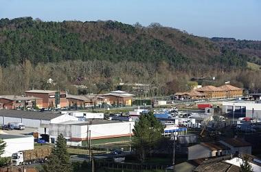 Zone d'activité proche de l'A89 à Saint Laurent sur Manoire sur la commune de Boulazac Isle Manoire