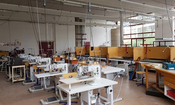 Plateau technique de formation pour les métiers du cuir